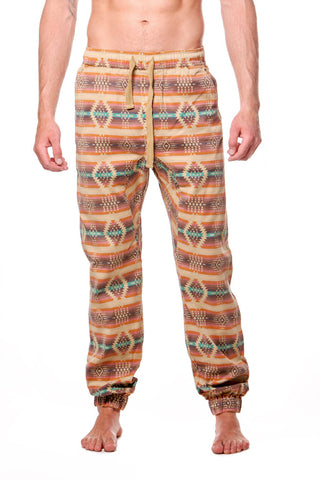 Orange Drop Crotch Drawstring Jogger