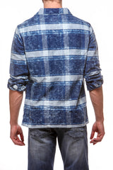 Lumber Shirt Blue/White