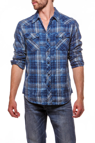 Cowboy Shirt Big Blue