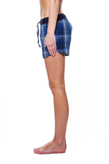 Dolphin Shorts Big Blue Plaid
