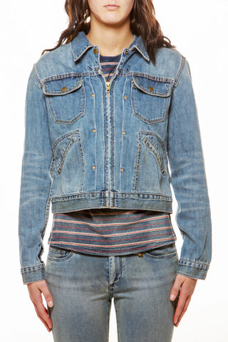 Womens Vintage Denim Jacket