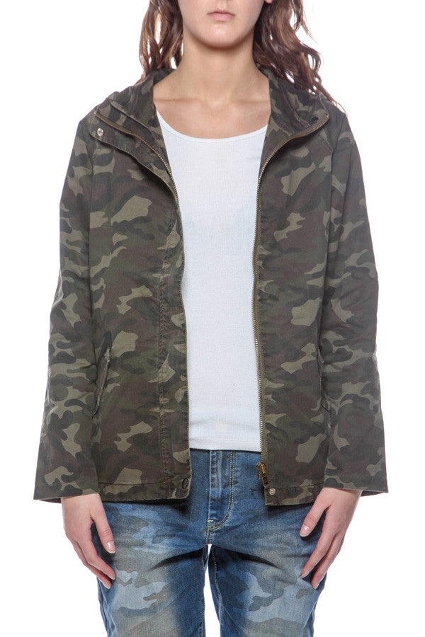 WOMEN'S WOODCOCK HOODED JACKET