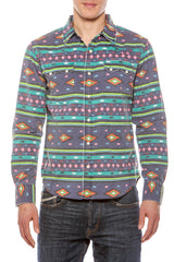Mens Hawaiian Cowboy Aztec