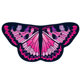 Childrens Butterfly Wings Kids Monarch Pink Cape Dress Up Dance Costume Wings
