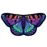 Childrens Butterfly Wings Kids Heartpatch Cape Dress Up Dance Costume Wings