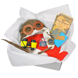 Childrens Explorer Costume Box with Adventurer Map Compass Binoculars