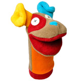 Cuddly Dog Fleece Hand Puppet