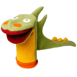 Cuddly Fleece Dragon Hand Puppet