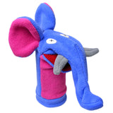 Cuddly Fleece Elephant Hand Puppet