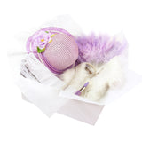 Childrens Tea Party Little Lady Costume Box with Hat, Pearls & Dress Up Accessories for Girls