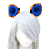 Tigers Fans Ear Clips Costume Party Animal Tiger Ears Clip Accessories