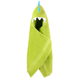 Knotty Kid - Hooded Dinosaur Towel Monster Bath Towels for Children and Adults