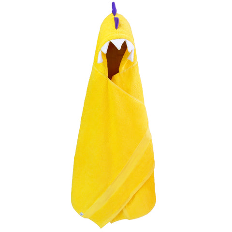 Hooded Dinosaur Towel LSU Kids Monster Bath Towels for Children and Adults