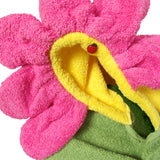 Knotty Kid - Hooded Towel Flower Bath Towels for Children and Adults