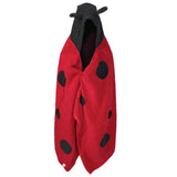 Knotty Kid - Hooded Towel Ladybug Bath Towels for Children and Adults