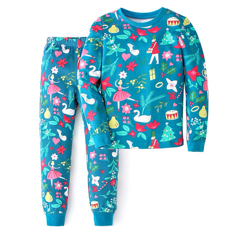 Children's Cotton Pajamas 12 Days of Christmas PJs Jammies Set