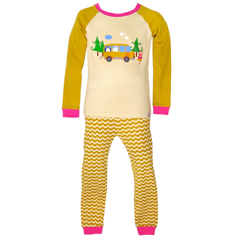 Children's Cotton Pajamas Camping Pals PJs Jammies Set