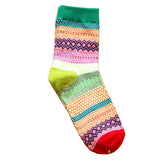 Crazy Festive Mix-Match Patterned Socks