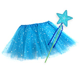 Felt Flower Butterfly Star Wands for Kids Fairy Wand