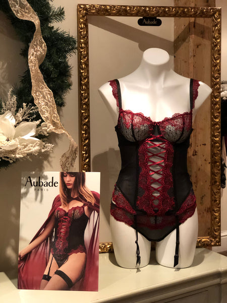 Aubade Trunk Show at Sugar Cookies Lingerie December 12th-2