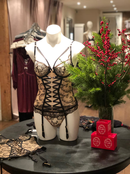 Aubade Trunk Show at Sugar Cookies Lingerie December 12th-5