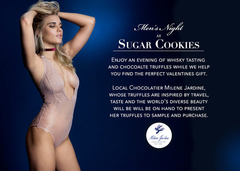 Sugar Cookies Men's Night with Truffles & Lingerie Back