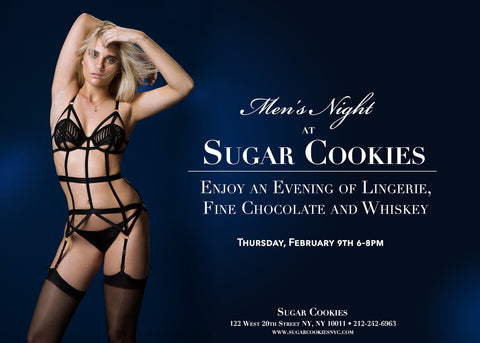 Sugar Cookies Men's Night with Truffles & Lingerie