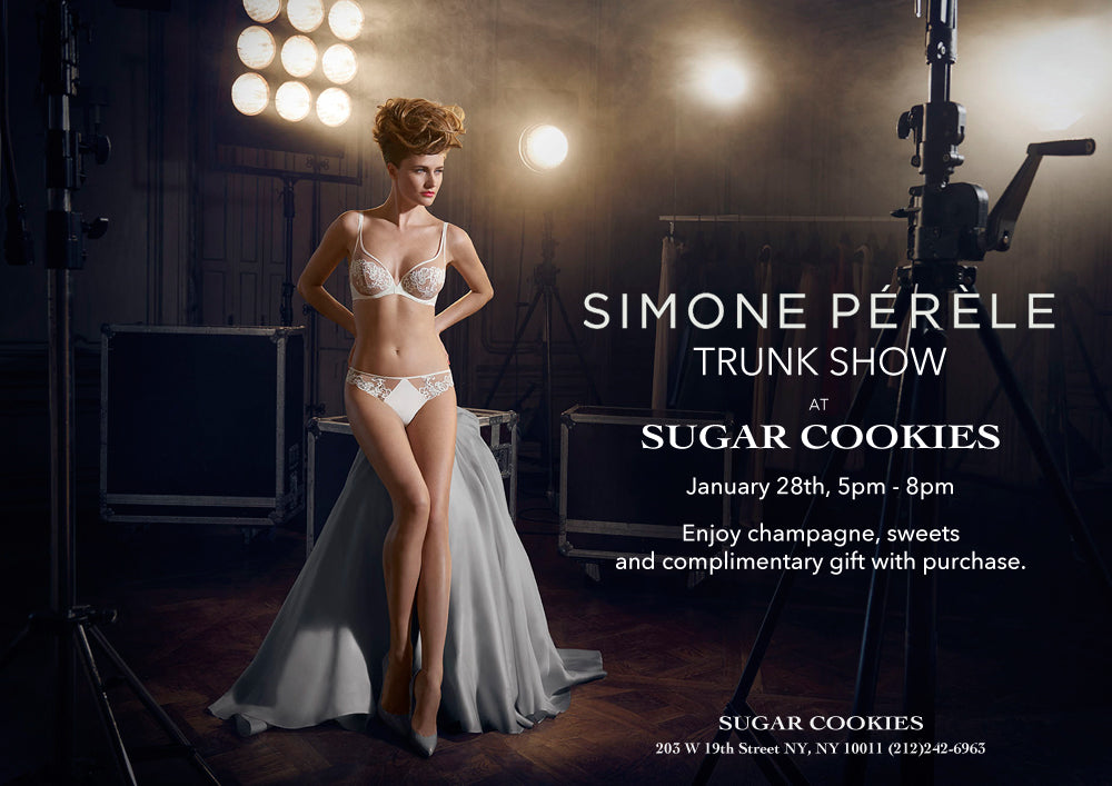 Simone Perele Trunk Show at Sugar Cookies NYC