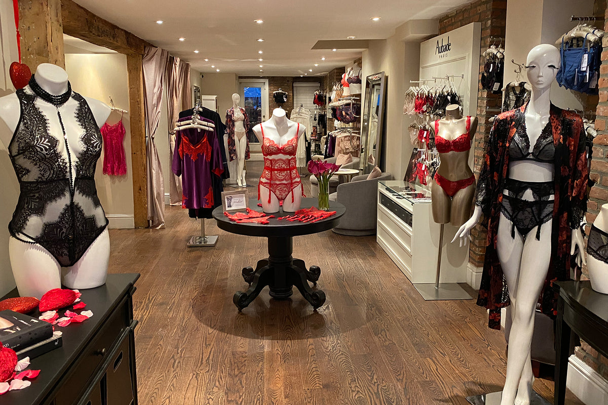 Sugar Cookies Valentine's Day Luxury Lingerie Boutique located in Chelsea, NYC