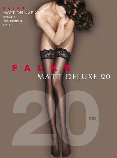 Falke Matt Deluxe 20 Stay Up - Sugar Cookies Lingerie NYC