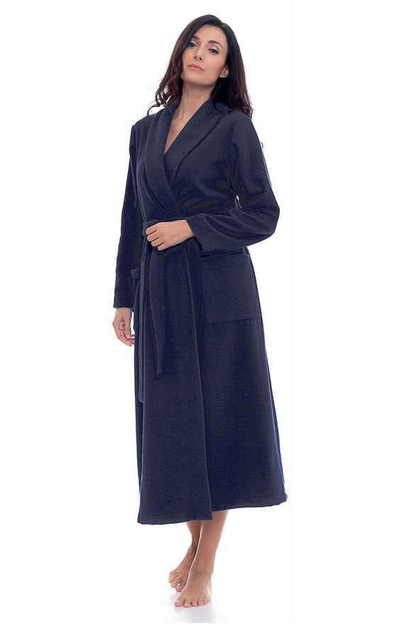 B&B di Bianchi Cashmere Belted Robe - Sugar Cookies Lingerie NYC