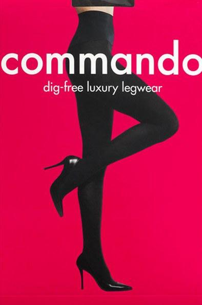 Commando Ultimate Opaque Control Tights - Sugar Cookies Lingerie NYC