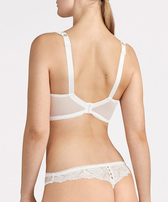 Aubade Pour Toujours Comfort Half Cup Bra - Sugar Cookies Lingerie NYC