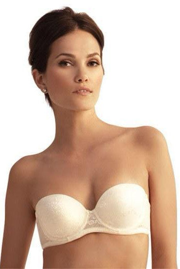The Little Bra Company Sascha Lace Strapless Bra - Sugar Cookies Lingerie NYC