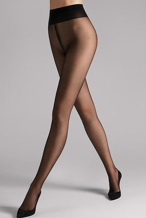 Wolford Individual 10 Sheer Tights - Sugar Cookies Lingerie NYC