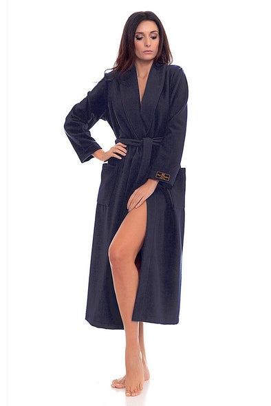 B&B di Bianchi Wool Cashmere Robe - Sugar Cookies Lingerie NYC