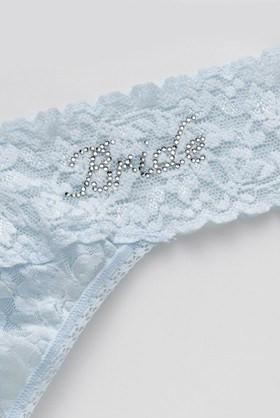 Hanky Panky Bride Low Rise Thong - Sugar Cookies Lingerie NYC