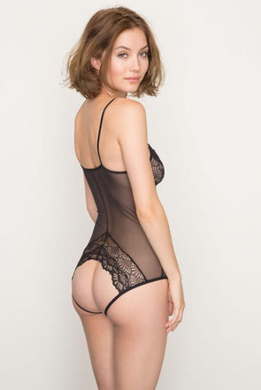 Only Hearts Whisper Sweet Nothings Coucou Bodysuit - Sugar Cookies Lingerie NYC