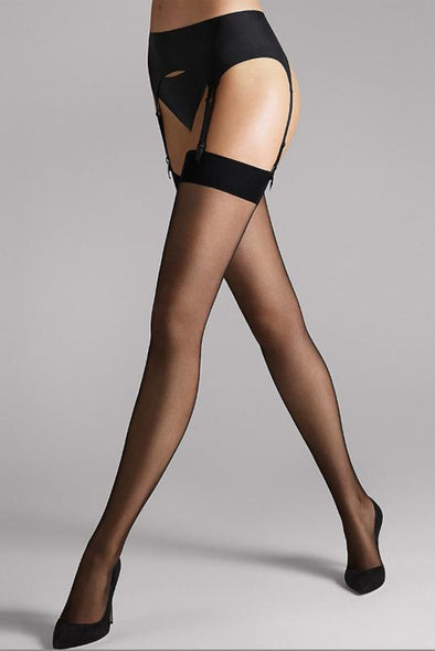 Wolford Individual 10 Stockings - Sugar Cookies Lingerie NYC
