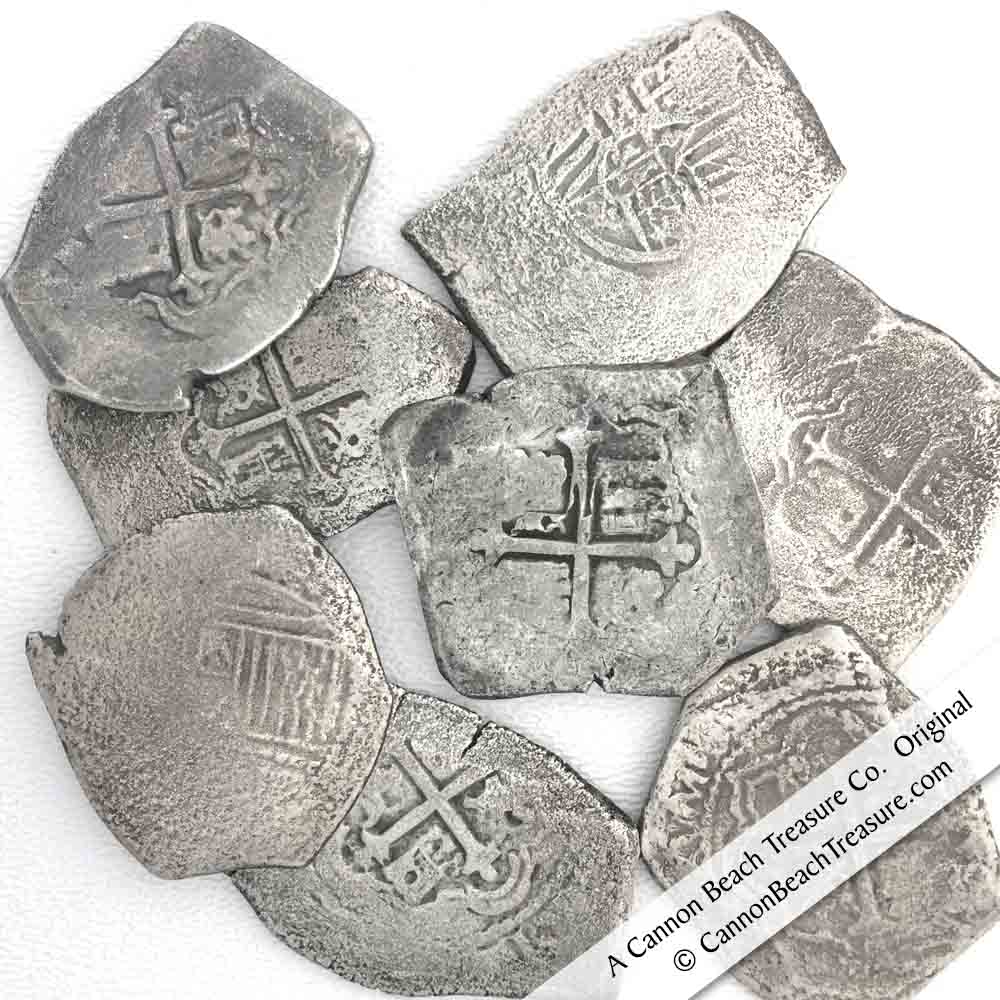 1715 Spanish Treasure Fleet Shipwreck Coins and Coin Jewelry