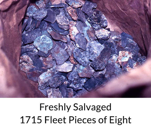 1715 Fleet Shipwreck Treasure Coins
