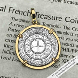Medieval Crusade and Knights Templar Coin Necklaces