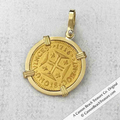 Portuguese Gold Coin Jewelry