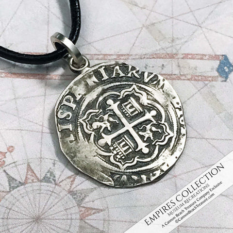 Empires Collection of Shipwreck Silver Treasure Coin Jewelry