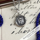 Be Thou Faithful Wax Seal Necklace