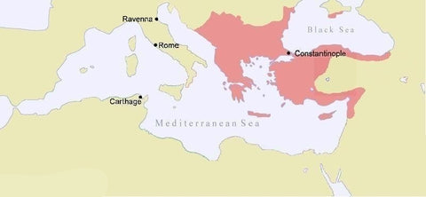 Constantinople in 1180 AD