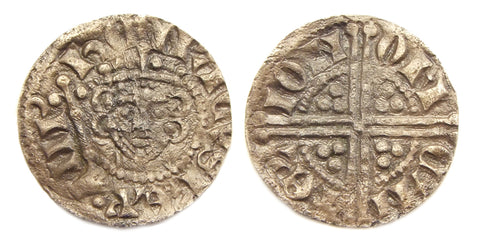 Example of the new Long cross penny with bust of Henry III