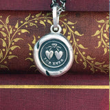 For Ever Wax Seal jewelry pendant