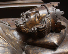 Head of Henry III from coffin
