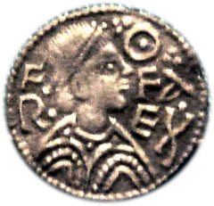 Silver penny of Offa